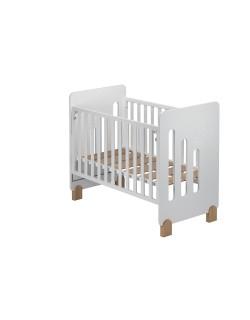 Cuna de bebe Don Algodón Moon Nature Convertible +Regalo de una sabana bajera para el colchón