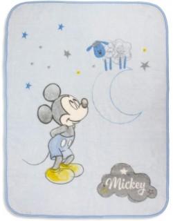 Manta cuna Mickey 110 x 140 cm
