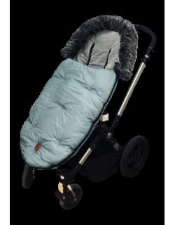 Baby Monsters Saco silla de paseo universal y bugaboo color Atlantic