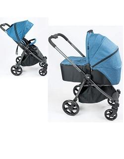 NIU-Cochecito de bebe 2 en 1 Silla de paseo mas Capazo VENTT