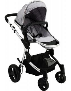 Baby Monsters Premium - Silla de paseo, color silver